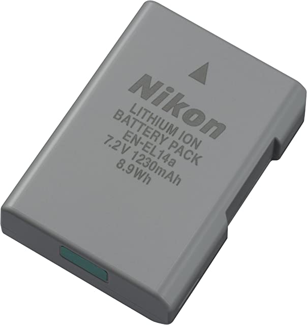 Nikon EN-EL14a Lithium-Ionen-rechargeable battery