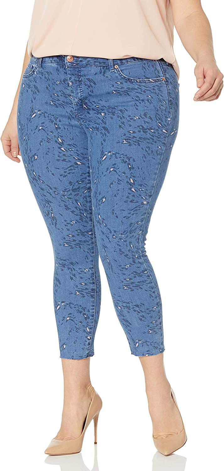 Jessica Simpson Women's Adored Curvy High Rise Ankle Skinny