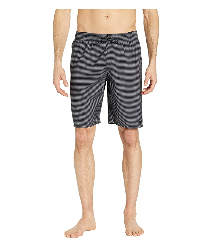 Nike 9 Line Break Breaker Volley Shorts (Black) Men