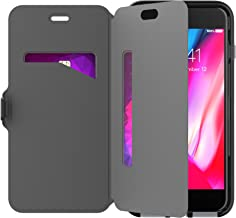 tech21 - Phone Case Compatible with Apple iPhone 8 Plus/iPhone 7 Plus - Evo Wallet - Black