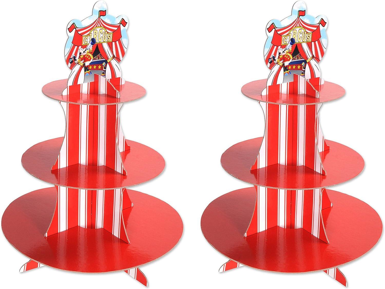 Circus Cupcake Stands