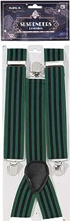 Forum Novelties Men's Roaring 20's Adult Striped Suspenders