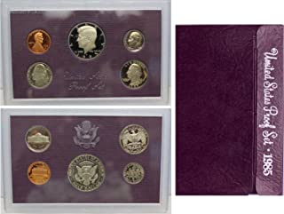1985 S US Mint Proof Set Original Government Packaging