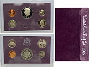 united states proof set 1985