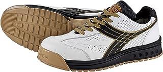 ドンケル/ディアドラ DIADORA 安全作業靴 ピーコック 白/黒 25.5cm(3881652) PC12-255 [その他] [その他]