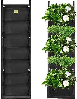 KORAM 7 Bolsillos Jardinera de jardín Vertical Jardinera