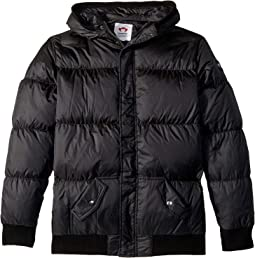 Puffy Coat with Hood and Front Pockets (Infant/Toddler/Little Kids/Big Kids)