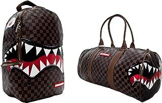 sharks in paris backpack brown