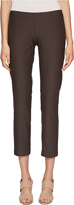 Eileen Fisher - Washable Stretch Crepe Slim Ankle Pants