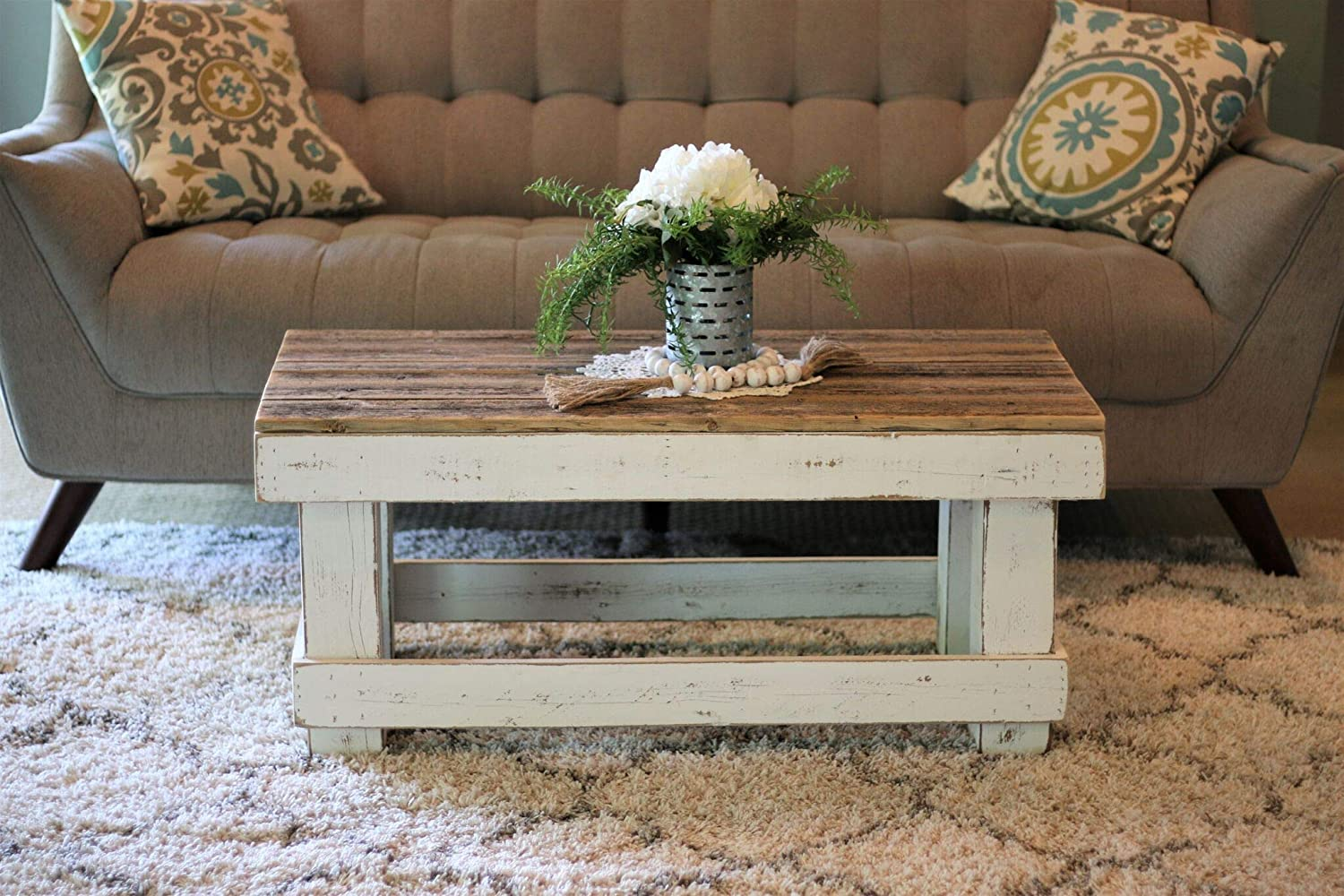 Max 89% OFF Ranking TOP15 White Combo Coffee Table