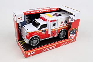 Daron FDNY Ambulance with Lights & Sounds