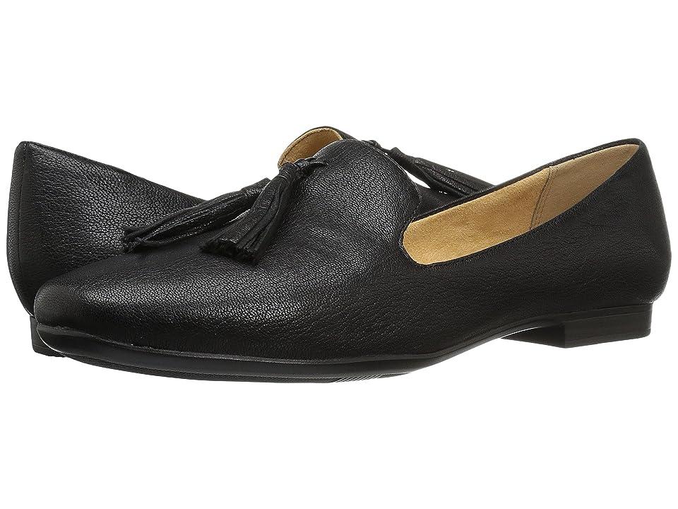 Naturalizer Elly (Black Tumbled Leather) Women