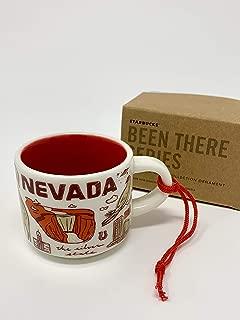 Starbucks NEVADA Been There Collection Ceramic Espresso Mug Demitasse Ornament 2 oz