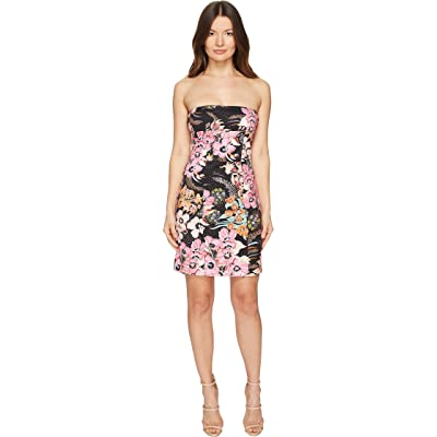Just Cavalli Flower Power Print Cami Dress (Black Variant) Women