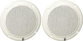 Poly-Planar MA-4054-W 4 2-Way Coaxial White 40W