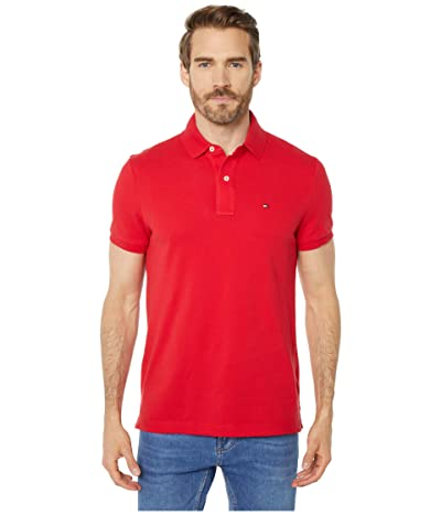 Tommy Hilfiger Adaptive Custom Fit Polo (Apple Red) Men