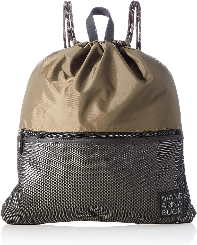 Mandarina Duck Women's Spirit Backpack, Soldier, Taglia Unica