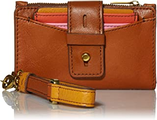 Women's Willa Leather Small Tab Bifold Wallet Wristlet With Removable Card Case