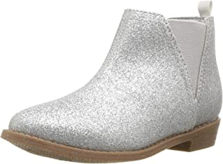 Carter's Kids' Girl's Carmina Sliver Western Boot