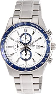 Casio for Men - Casual Stainless Steel Band Watch - EF547D-7A2