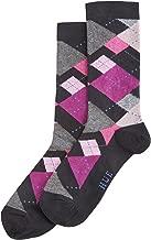 Hue Irregular Argyle Sock