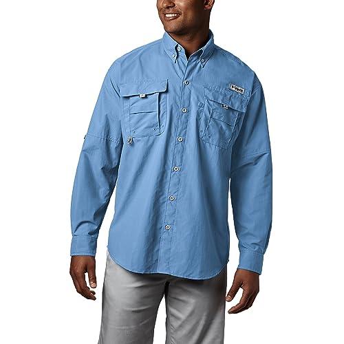 7a9de62267a Columbia Men's PFG Bahama II Long Sleeve Shirt, Breathable with UV  Protection
