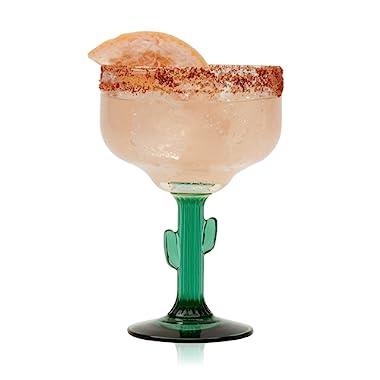 Libbey Cactus Margarita Glasses, Set of 4
