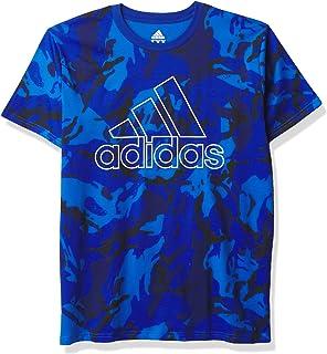 adidas Short Sleeve Cotton Jersey Logo T-Shirt Camiseta para Niños