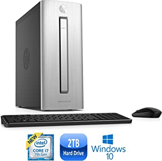 HP ENVY 750-567c Core i7-7700, 16GB, 2TB HDD, Windows 10 Mini Tower PC (Renewed)