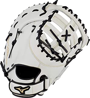 Mizuno GXF50FPW MVP Prime Fastpitch Softball First Base Mitts, 13