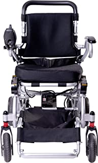 SPEED CARE FDA Approval Electric Power Deluxe Foldable Wheelchair Compact Light Weight, Portable, Elder, Motor Wheelchair