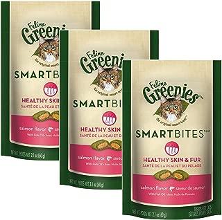 Greenies Feline Smrtbite Skn&Fur Salm 2oz