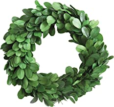 Creative Co-Op DA5819 Round Boxwood Wreath, 6""