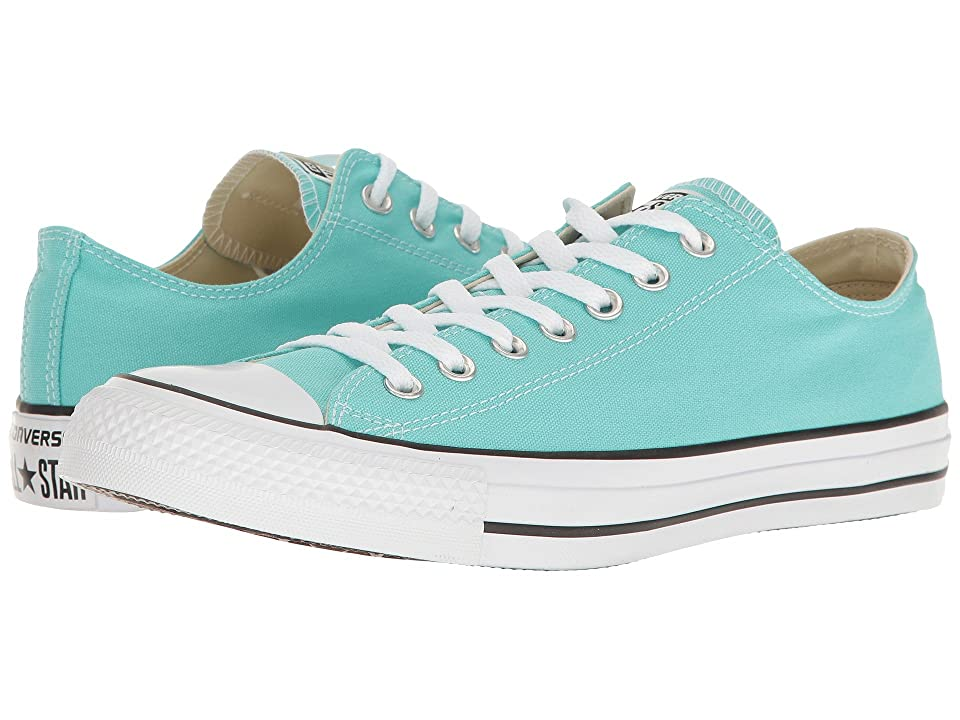 Converse Chuck Taylor All Star Seasonal Ox (Light Aqua) Athletic Shoes
