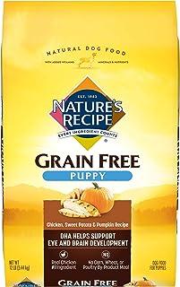 Nature`s Recipe Grain Free Puppy Dry Dog Food, Chicken, Sweet Potato & Pumpkin
