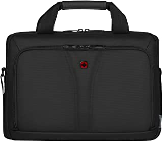 "Wenger 14"" Laptop Briefcase with Tablet Pocket, Black 606461"