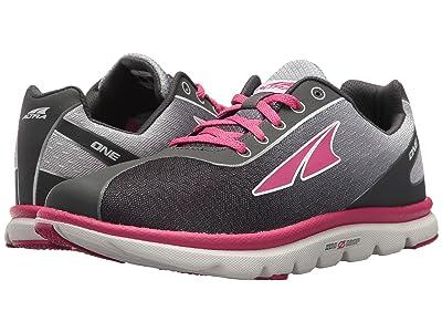 Altra Footwear One Jr (Big Kids) (Raspberry) Athletic Shoes