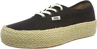 Vans Womens VA3NAQBLK Authentic Platform 7.5 US