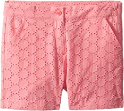 Eyelet Shorts (Toddler/Little Kids/Big Kids)