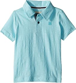 Lucky Brand Kids - Short Sleeve Washed Polo (Toddler)