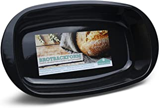 Hausfelder Grand moule à pain pour pain et rôti   Surface émaillée de qualité supérieure   Passe au lave-vaisselle   Plat ...
