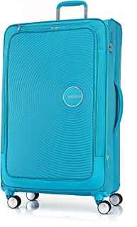 American Tourister Curio SS Softside Spinner Luggage, Turquoise, 81 Centimeters