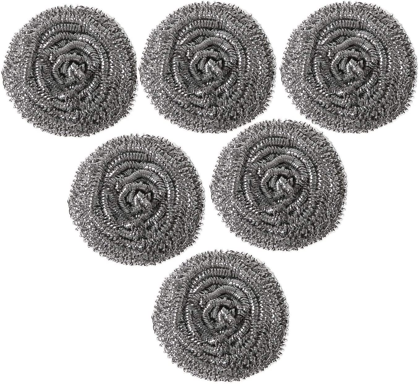 6 Pack Big Stainless Steel Sponges 2.36 Scrubbing inch Scouri Special Indefinitely sale item