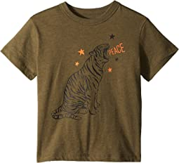 Chaser Kids - Vintage Jersey Tiger Star Tee (Toddler/Little Kids)