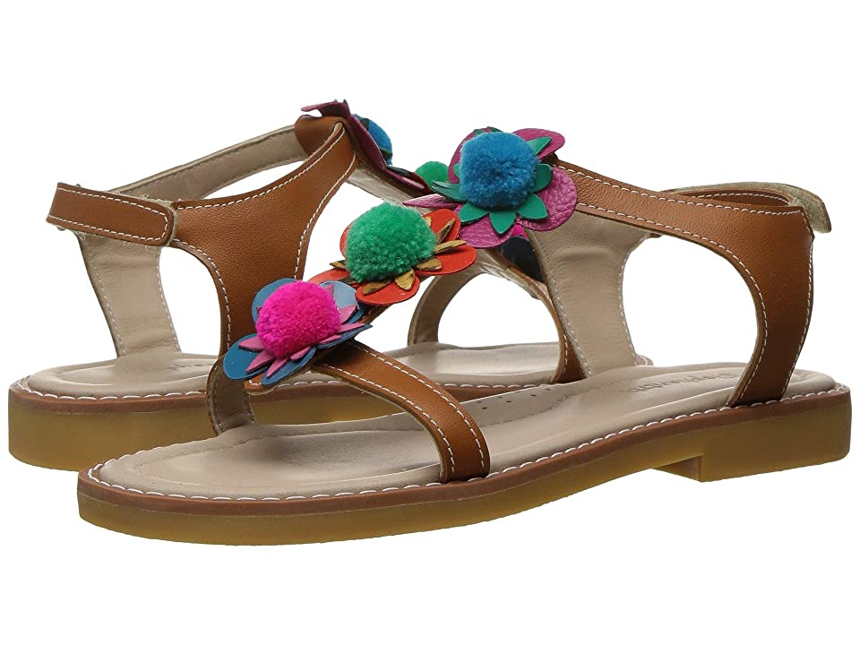 Elephantito Caribe Pom Pom Sandal (Toddler/Little Kid/Big Kid) (Multicolor) Girls Shoes