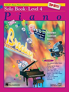 Alfred's Basic Piano Course Top Hits! Solo Book, Level 4 (Alfred's Basic Piano Library)