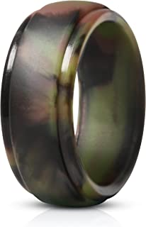 Silicone Rings Men - 7 Rings / 1 Ring Rubber Wedding Bands