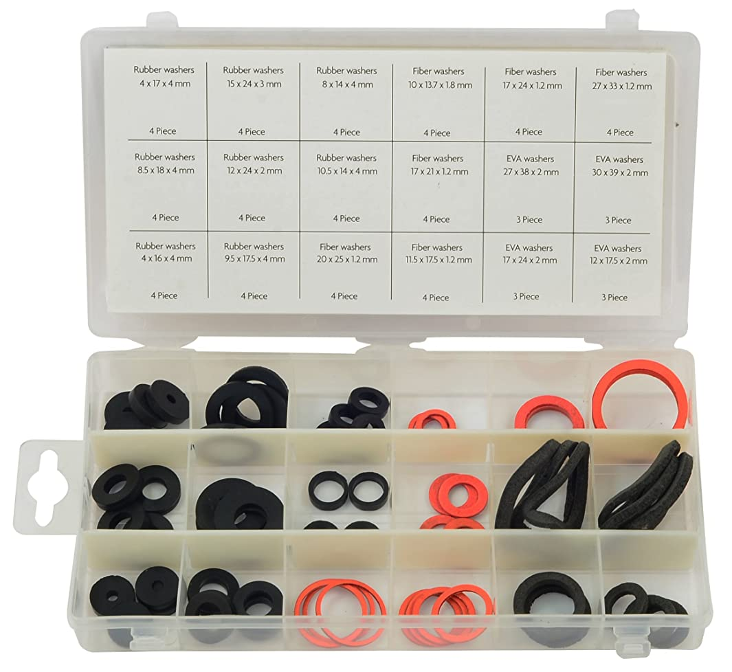 Rolson 61273 Sealing Washer Assortment - 68 Pieces By Rolson