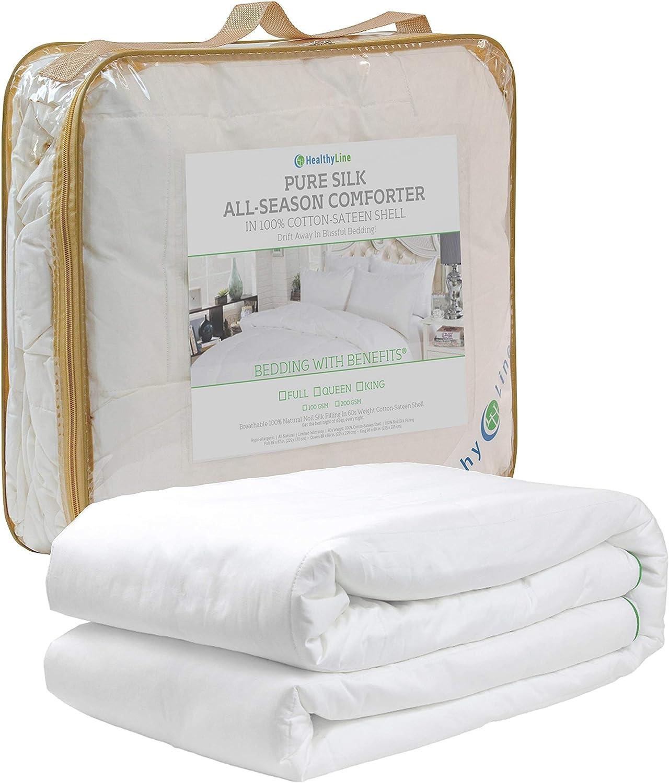 HealthyLine All 期間限定今なら送料無料 Seasons Luxury wit 人気 Allergy-Free Filled Comforter