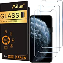 Ailun Screen Protector Compatible for iPhone 11 Pro Max/iPhone Xs Max 3 Pack 6.5 Inch 2019/2018 Release Tempered Glass 0.33mm Anti Scratch Advanced HD Clarity Work with Most Case